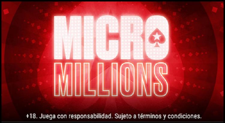 MicroMillions retorna ao PokerStars.es com € 5 milhões garantidos